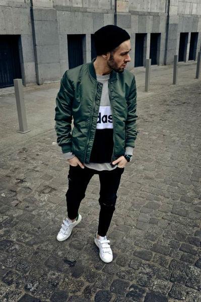 como verse mas alto chaqueta verde