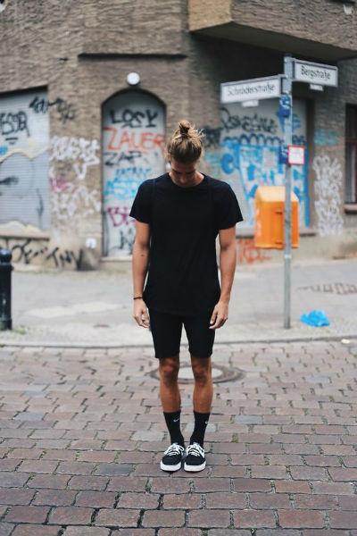 como verse mas alto shorts