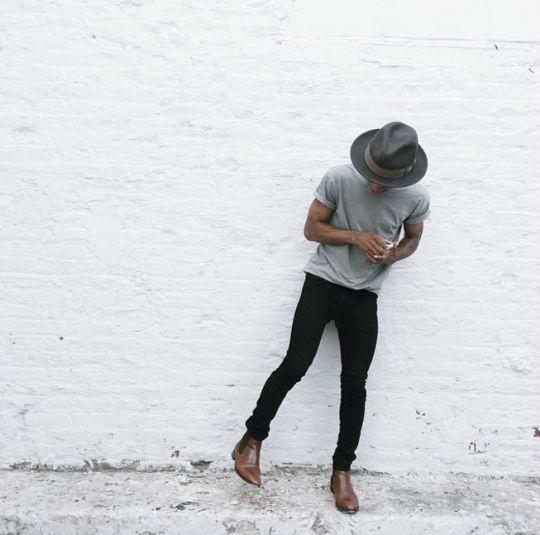 como verse mas alto sombrero