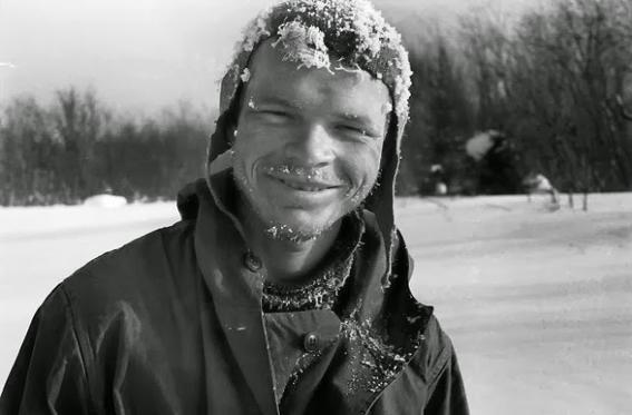 congelado exploradores rusos