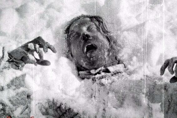 congelado muerto exploradores rusos
