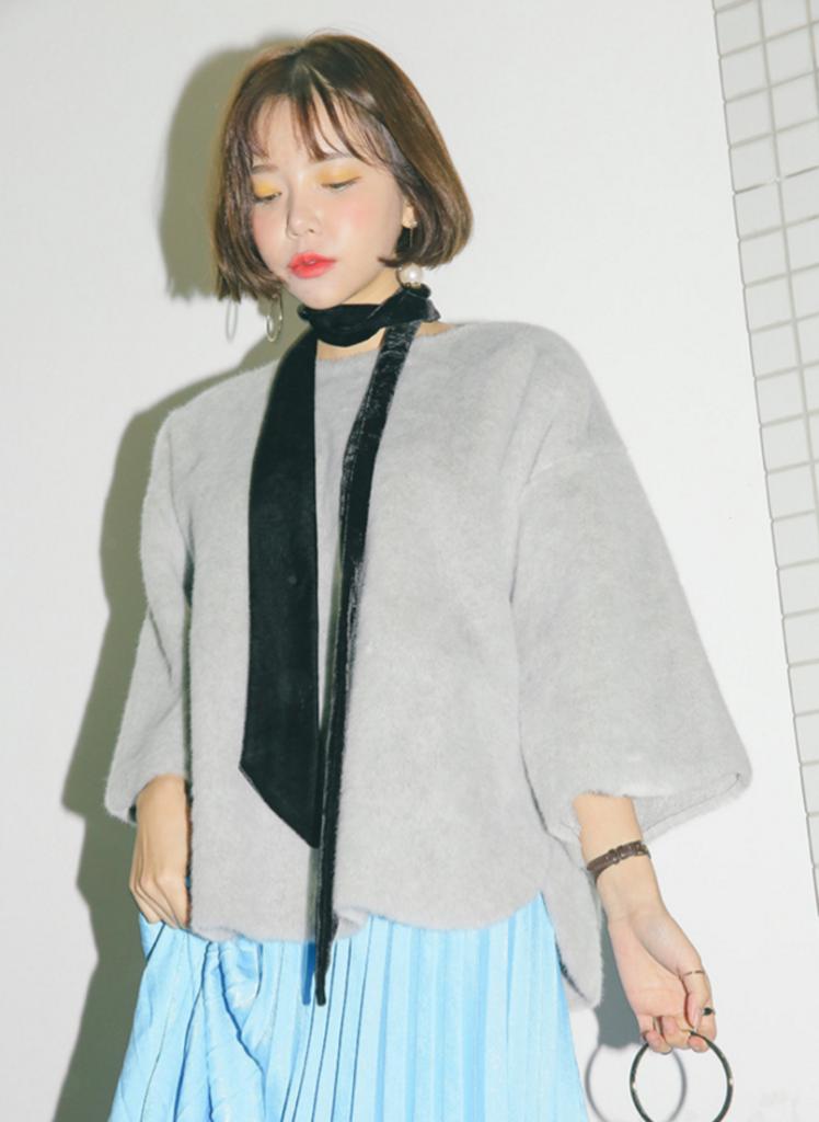 corbatas estilo coreano