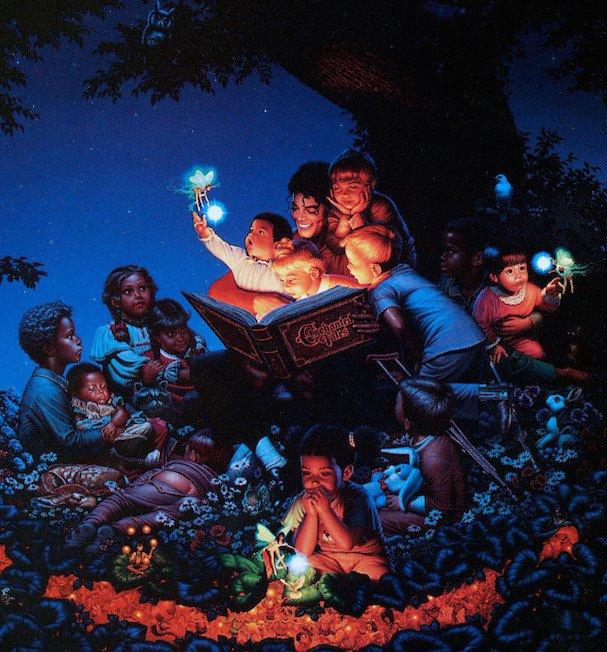 cuentos coleccion de arte de michael jackson