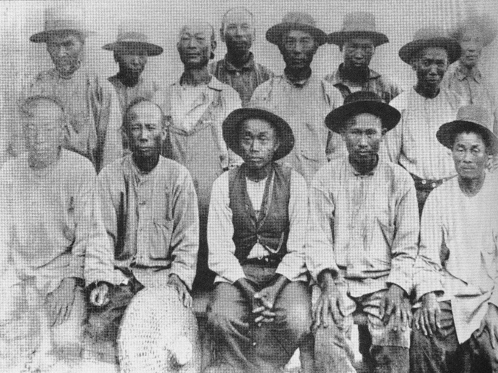 esclavos chinos ferrocarrill