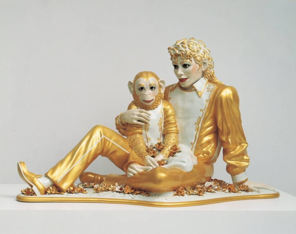 estatua coleccion de arte de michael jackson
