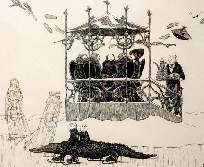El Ilustrador De Mundos Imaginarios Que Inspiró A Tim Burton