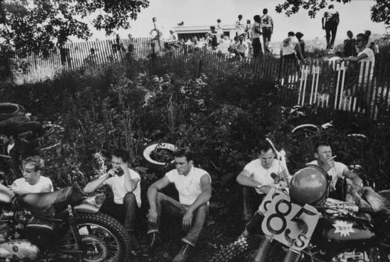 fotografias de bikers jardin
