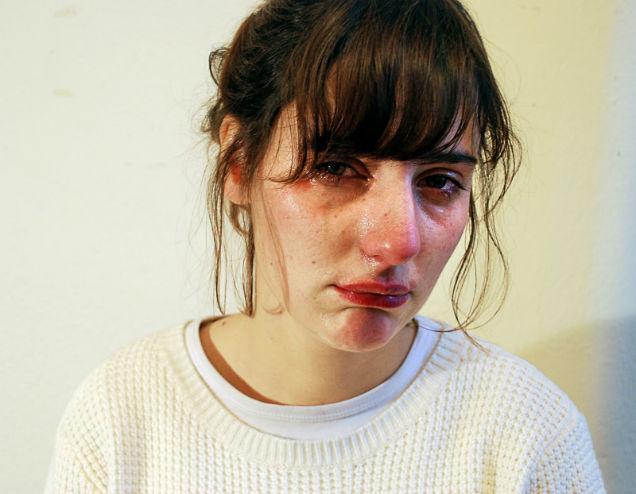 fotografias del cuerpo femenino llanto
