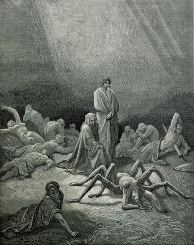 fraude Dante Alighieri