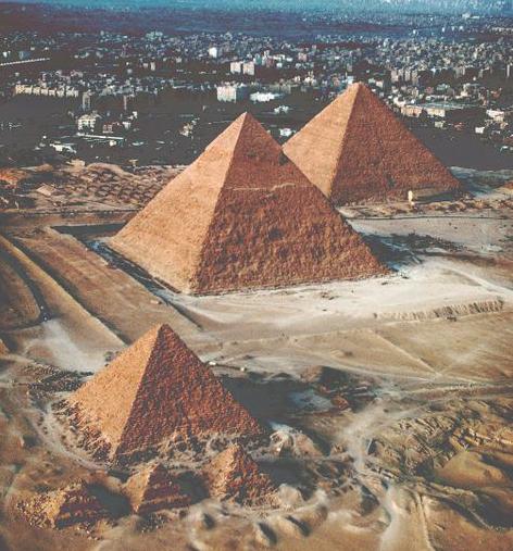 funcion de las piramides belleza