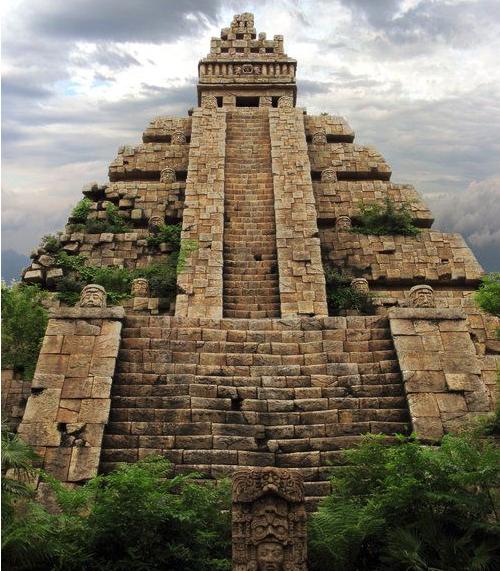 funcion de las piramides maya