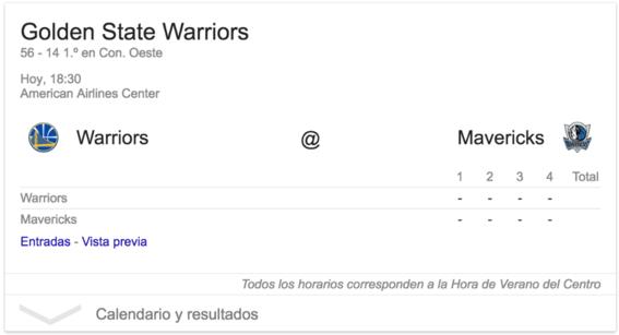 tips deportivos de google