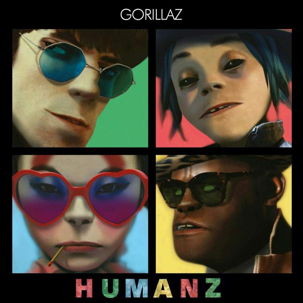 gorillaz humanz four