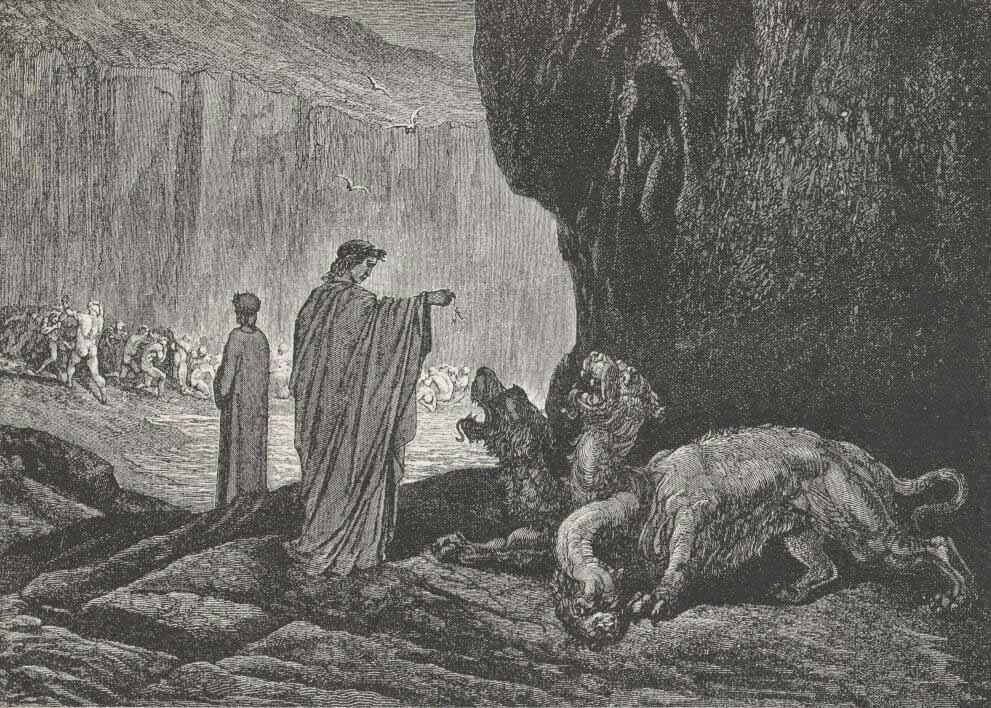 gula Dante Alighieri