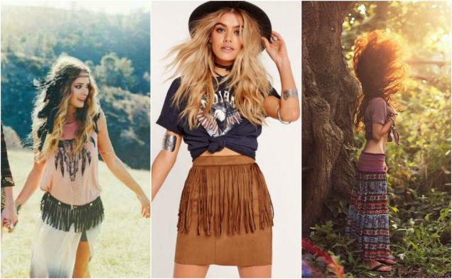 hippie trends boho skirts-w636-h600