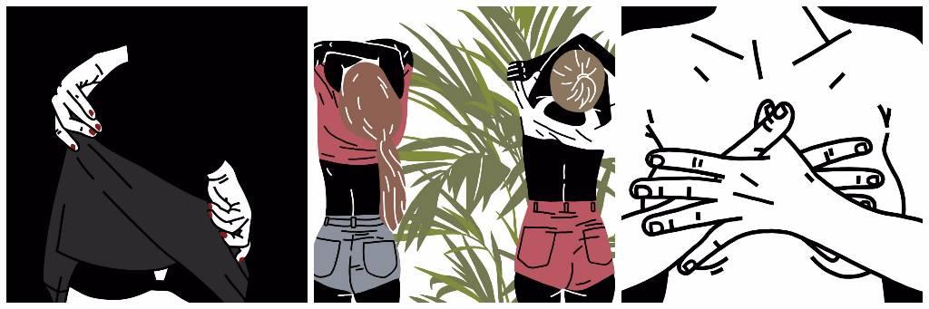 ilustraciones anna berger desnudos