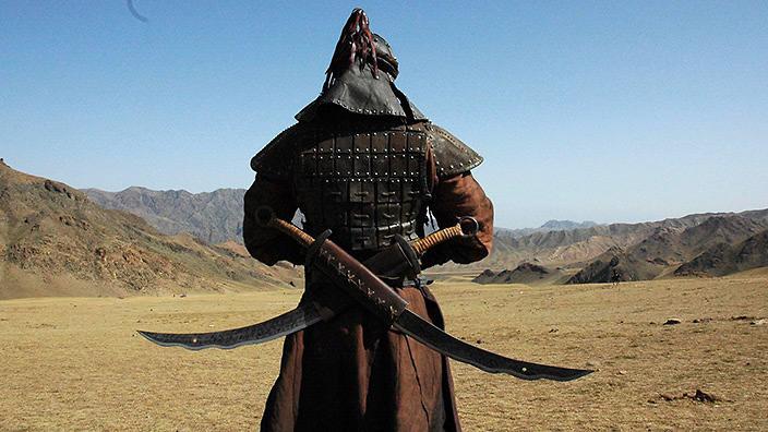 imperio mongol espadachin