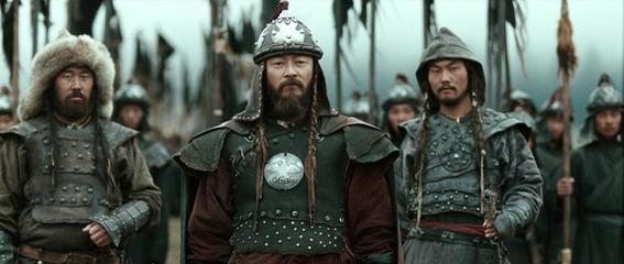 imperio mongol soldados