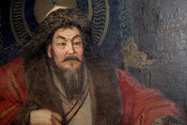 imperio mongol retrato khan