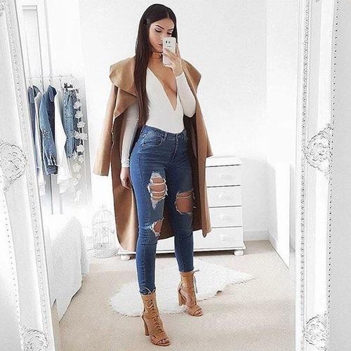 Formas De Llevar Jeans Rotos Y Verte Elegante - Moda
