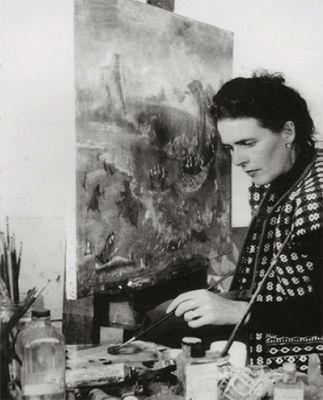 leonora carrington pintando