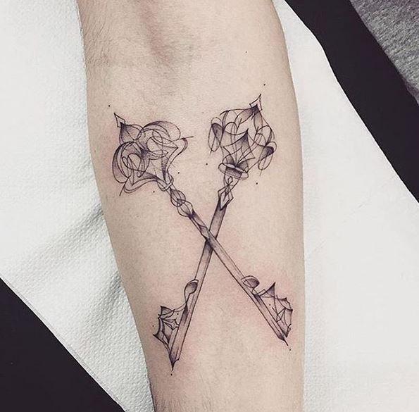 llaves tatuajes originales