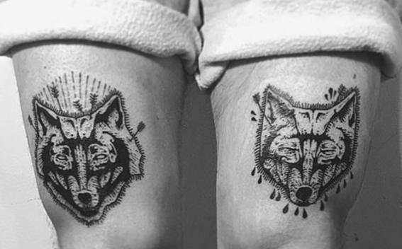 lobo tatuajes originales
