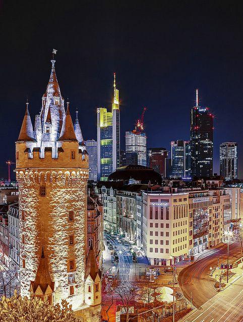 lugares economicos para vacacionar frankfurt