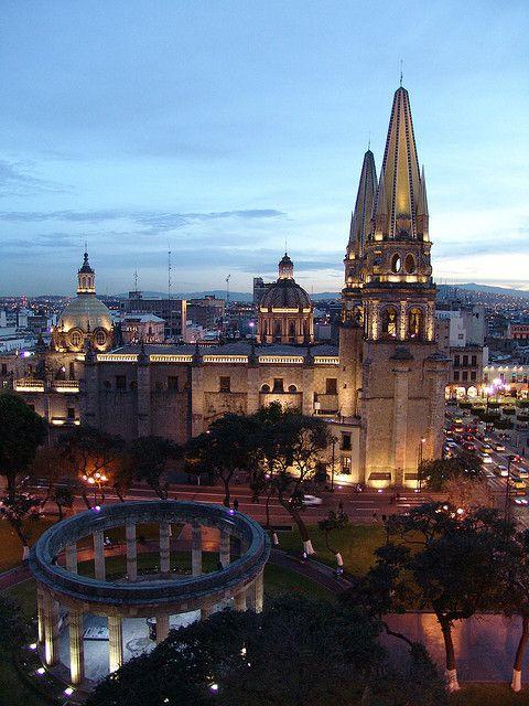 lugares turisticos guadalajara catedral