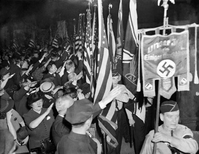 nazis en nueva york