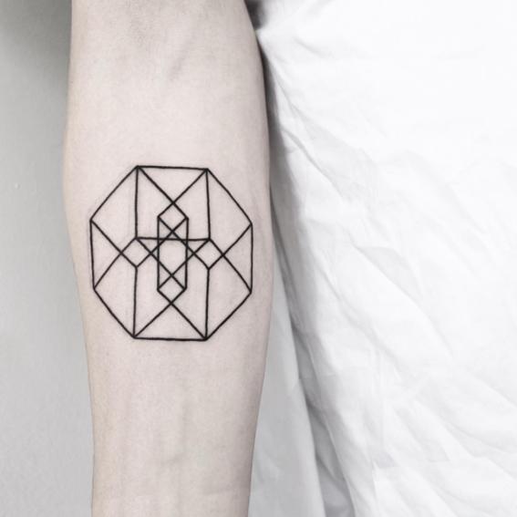 mandala disenos de tatuajes geometricos
