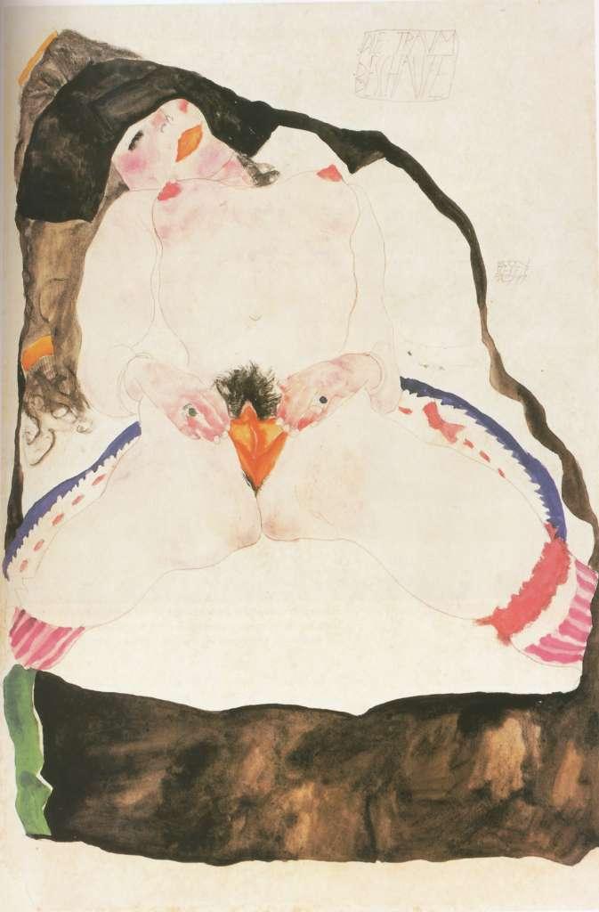 masturbacion femenina en obras de arte edmond