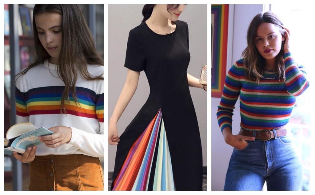 moda primavera 2017 arcoiris