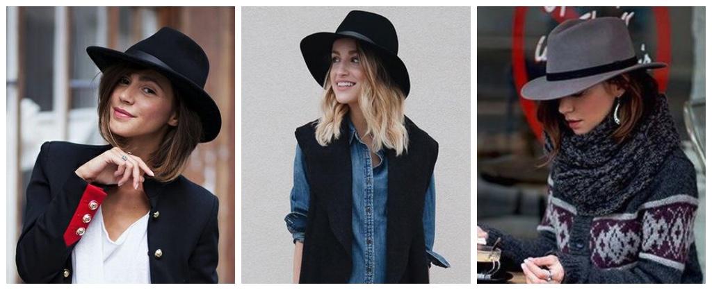 moda primavera 2017 fedoras
