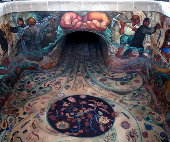 murales de diego rivera carcamo