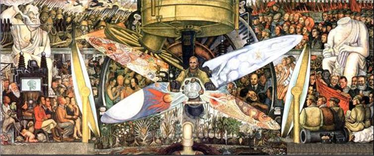 10 murales de diego rivera y su significado arte for Un mural de diego rivera