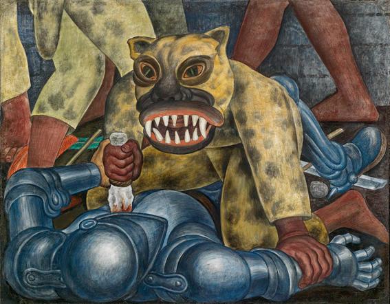murales de diego rivera guerrero