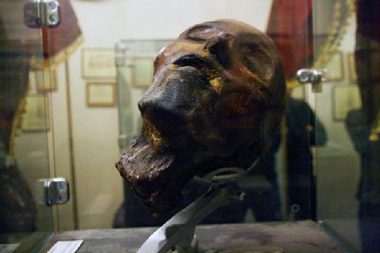 museo de la muerte cabeza