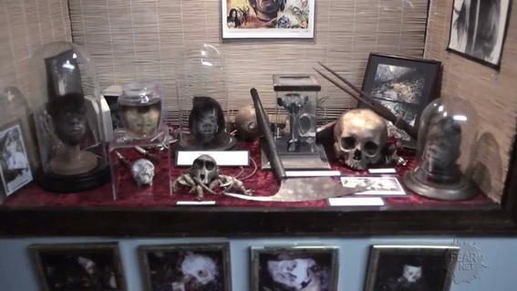 museo de la muerte calaveras