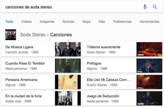 musicas trucos de google
