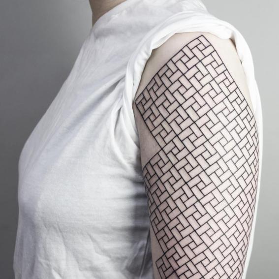 patron disenos de tatuajes geometricos