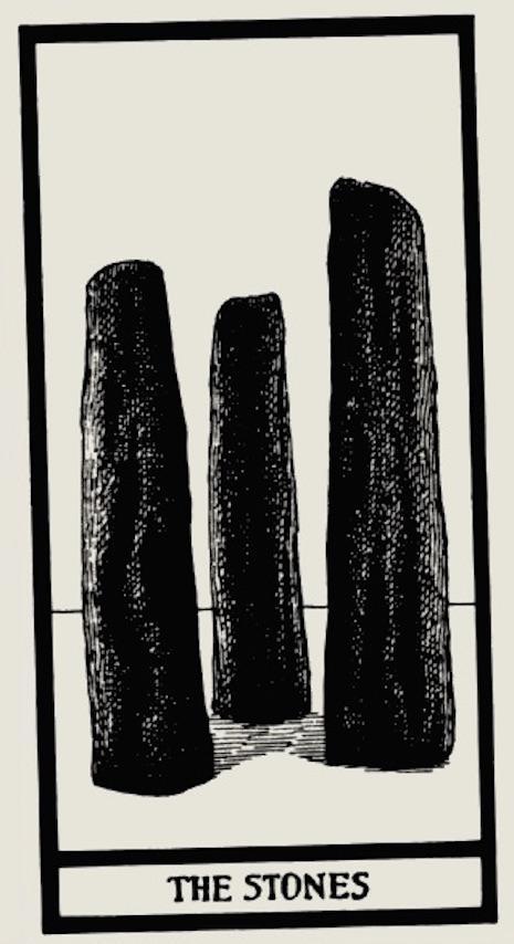 piedras edward gorey tarot