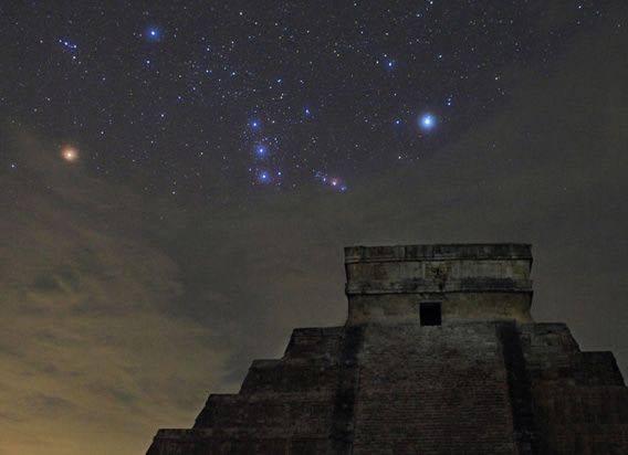 pleyades mayas