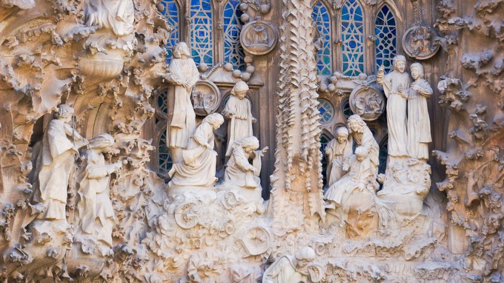portico de la caridad sagrada familia