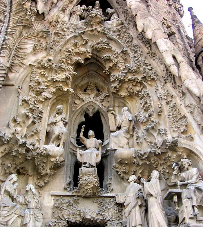 portico de la fe sagrada familia