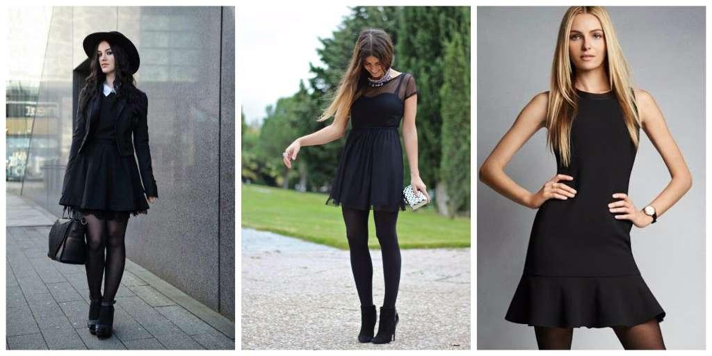 prendas mujer empoderada vestido negro
