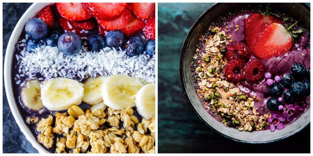 preparar desayunos saludables acai