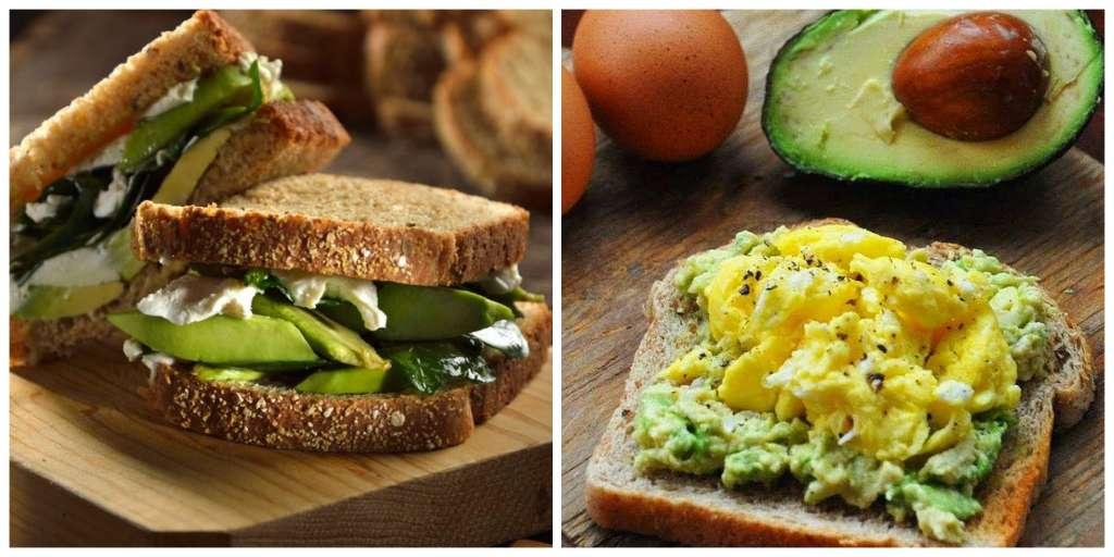preparar desayunos saludables aguacate