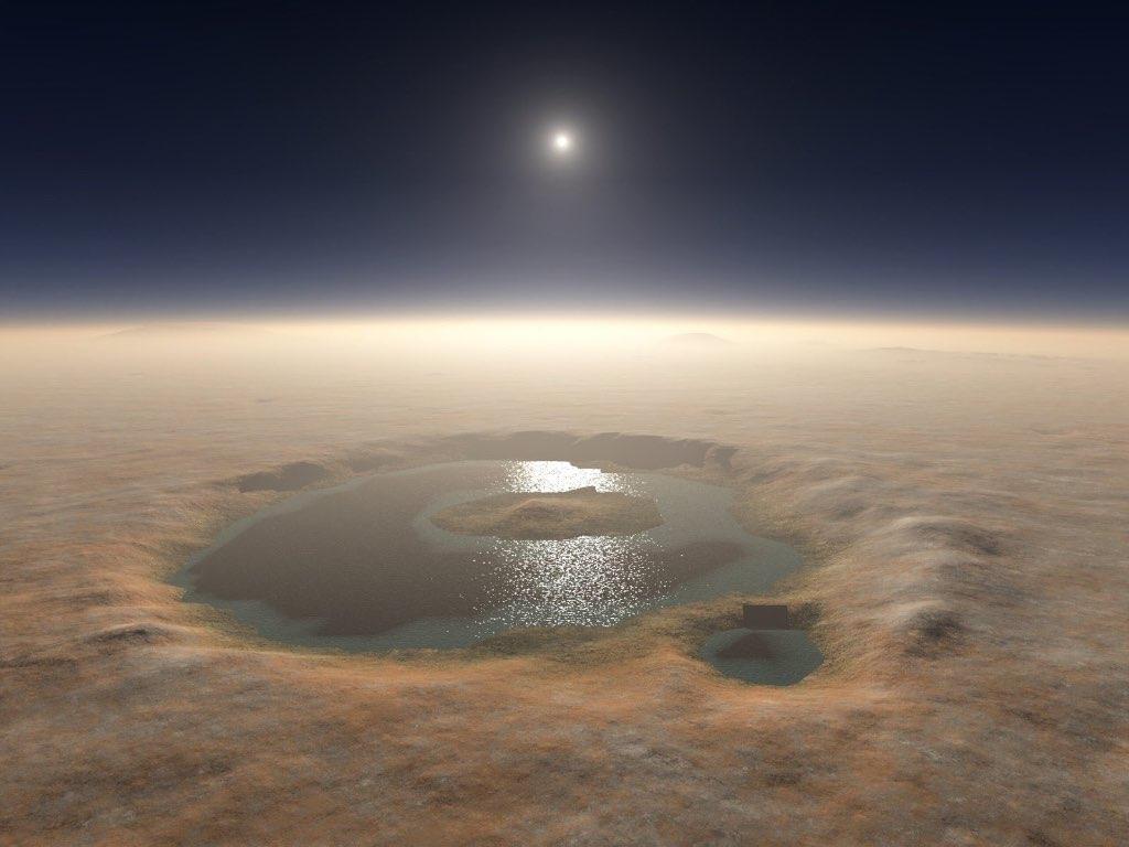 proyecto para vivir en Marte con agua