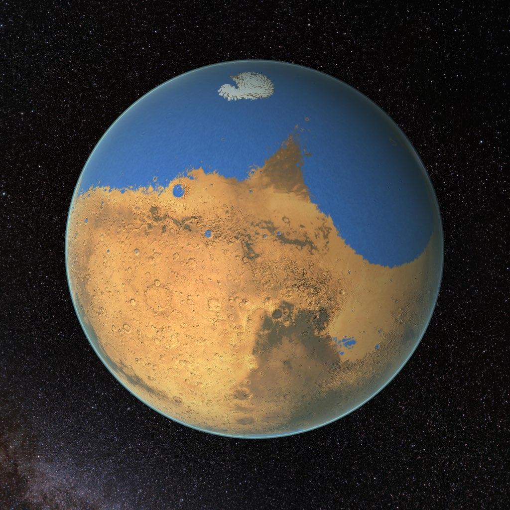 proyecto para vivir en Marte planeta